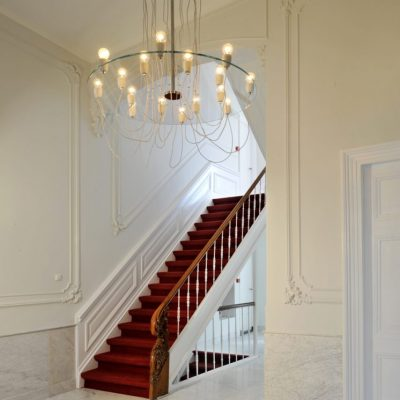 A monumental mansion with original floors, stairs and woodwork