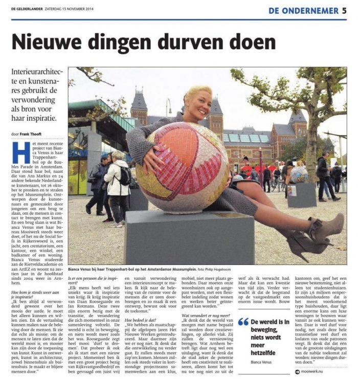 De Gelderlander/De ondernemer November 15, 2014